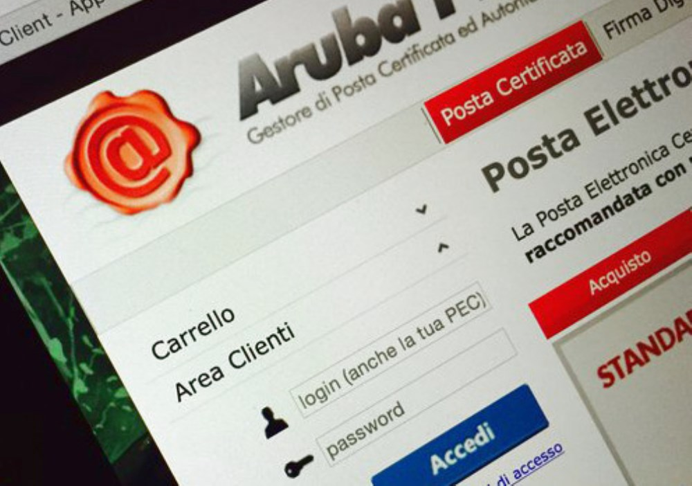 FIRMA DIGITALE Tutti i servizi Aruba PEC